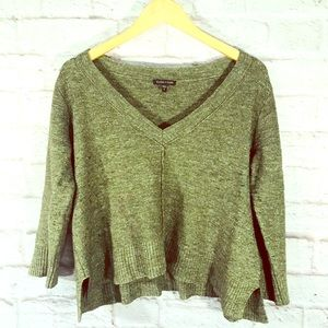EILEEN FISHER cropped sweater.
